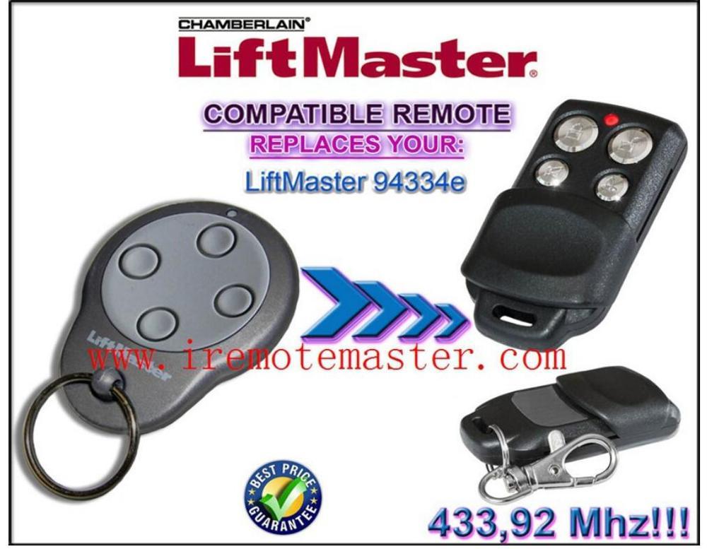 For Liftmaster Chamberlain 94335e 94334e Garage Door Remote Control Compatible  Remote