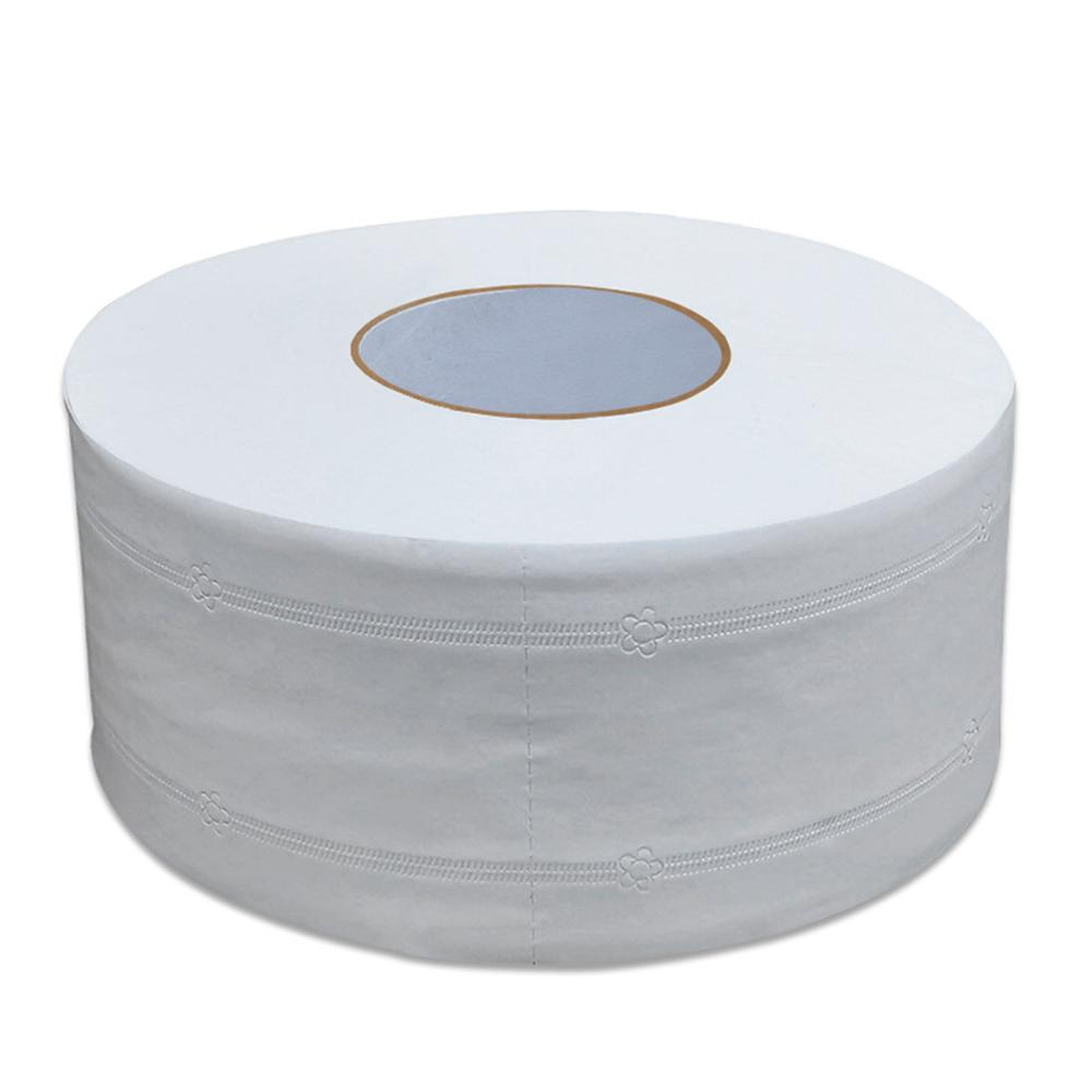 1 Roll Top Jumbo Quality Soft Roll Home Toilet Paper 4-Layer Native Wood Toilet Paper Pulp Rolling Paper Strong Water Absorption