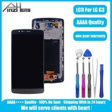 PINZHENG AAAA Quality Screen LCD For LG G3 D850 D8