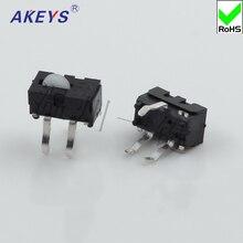 20pcs KFC-V-104 Round head micro-domestic detection stroke detection bidirectional limit detection micro switch sensor muon detection efficiencies