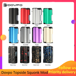 Original Dovpo Topside Squonk Mod 90W top fill with 10ml Squonk Bottle powered by single 21700 vs athena squonk Rage Mod