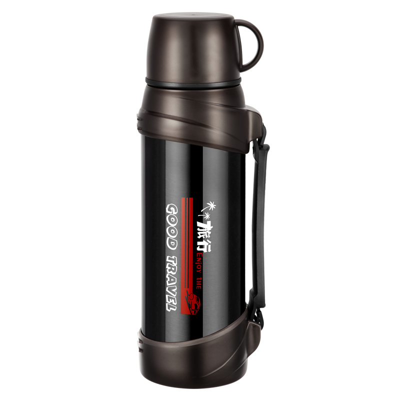 2L/2.5L Large Capacity Stainless Steel Thermos Vacuum Flask Cup Coffee Tea Milk Travel Mug Thermo Water Bottle Thermocup