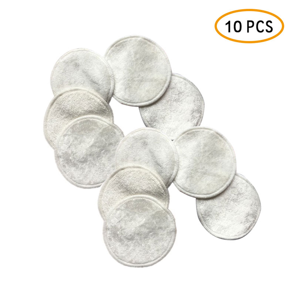 3-10Pcs/lot Reusable Cotton Pads Make Up Facial Remover Double Layer Wipe Pads Nail Art Cleaning Pads Washable With Laundry Bag