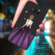ASINA Silicone Matte Case For Samsung Galaxy S8 Luxury Protective Cover S7 S9 Plus A6 A7 A8 2018 Bumpers