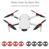 For Mavic Mini 4Pcs/Set Aluminum Alloy Motor Covers Dustproof Protection Cover Guard Cap|Drone Accessories Kits| |  -