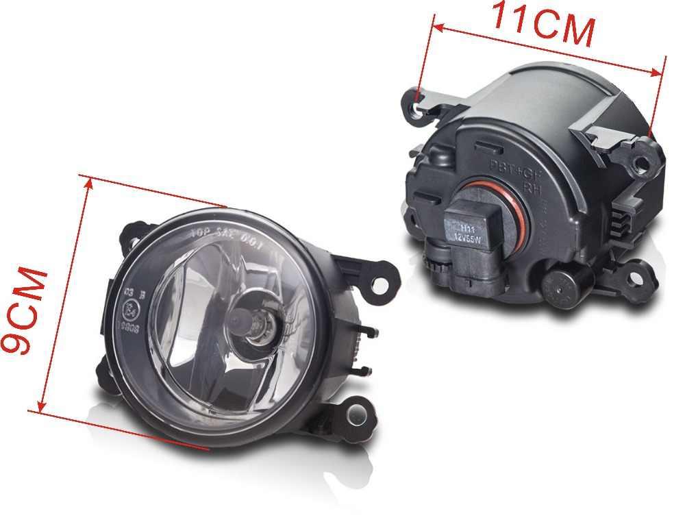 ערפל מנורת הרכבה סופר מואר ערפל אור עבור סיטרואן C3 C4 C5 C6 C-crosser קסארה פיקאסו 1999-2015 הלוגן ערפל אורות