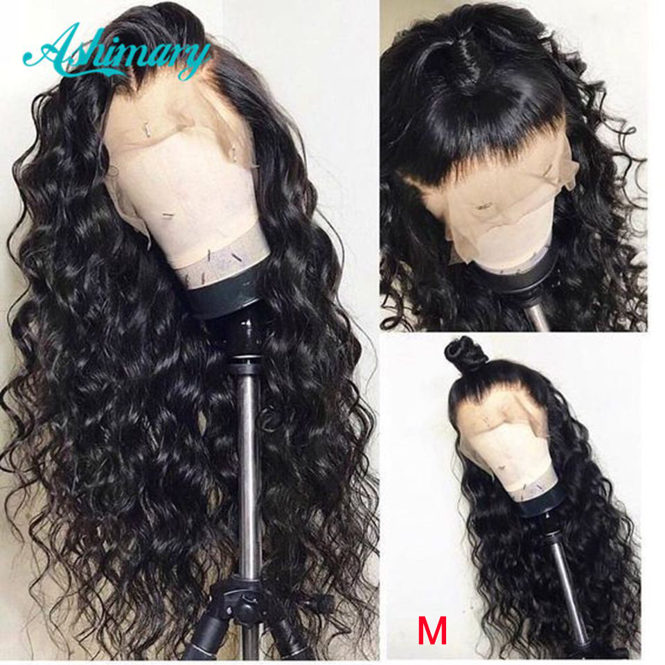 13x6 Lace Frontal Wigs 150% Density Remy Body Wave Brazilian Hair Lace Front Human Hair Wigs  Pre Plucked With Baby Hair