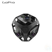 Omni sferyczny Rig z 6 kamerami HERO4 panoramiczna kamera wideo z kolorowym szwem