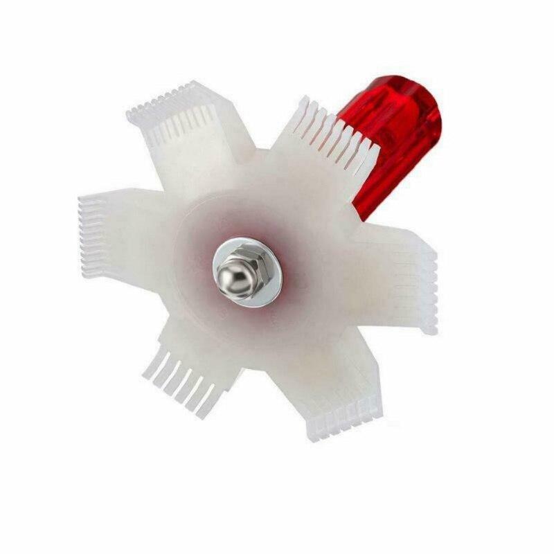 Air Conditioner Fin Repair Comb Condenser Radiator Evaporator Cleaner Tool Brush Straighten Damaged Fins