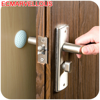 ECM#BAO Cabinet Furniture Table Thickened Wall Mute Anti-flip Door Handle Lock Protective Shock Crash Rubber Pads For Chair Legs