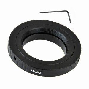 Image 2 - Do teleskopów mikroskopy T2 T obiektyw do M42 zestaw adapterów do montażu pierścieniowego T2 M42