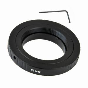 Image 2 - For Telescopes Microscopes T2 T Lens To M42 Ring Mount Tube T2 M42 Adapter Kit