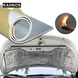 6mm 236mil Car Truck Firewall Heat Sound Deadener Insulation Mat Noise Self-adhesive foam Soundproof Dampening Mat