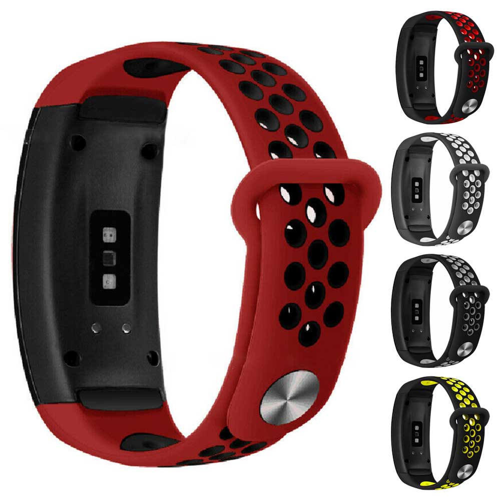 Sport Breathable Watchband For Samsung Gear Fit2 PRO R365 Belt Soft Silicon Watch Band Strap For Samsung Gear Fit2 <font><b>R360</b></font> Strap image