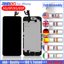 цены 100% OEM Screen For iPhone 6 6s Plus 7 LCD Screen Replacement Display with 3D Touch Screen Digitizer Assembly White&Black