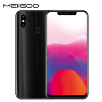 MEIIGOO S9 4G Smartphone 4GB 32GB 6.18 FHD Mobile Phone Android 8.1 MTK6750T Octa Core 5000mAh 13MP OTG Face Fingerprint Unlock