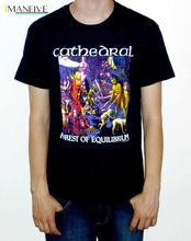 Cathedral Forest Of Equilibrium T Shirt OFFICIAL Fashion Design Free Shipping Mens Shirts 2019 Novelty O-Neck Tops
