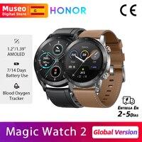 Honor Magic Watch 2, Versión global, Bluetooth 5.1, Detectar el oxígeno en la sangre, Hasta 14 días de duración de la batería, 50m A prueba de agua, €10 Code:11112020ES10 on 11.11 09:00