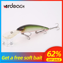 ARDEA fishing lure minnow floating 120mm 20g deep diving lureminnow hard perch trout wobbler