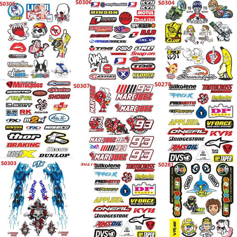 HELMET MOTORBIKE STICKERS X 2 YOUR NAME DECALS SPRAY GRAFITTI SILV VINYL COLOURs