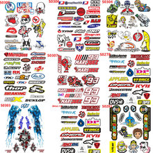 Motorcycle Sticker The Doctor GP Motocross Helmet 93 Glossy Film Scooter Bike Bicycle Moto Luggage Reflective Car Stikcer Decal(China)