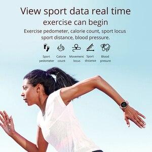Image 4 - Reloj inteligente COLMI SKY 2 IP68 a prueba de agua ritmo cardíaco oxígeno en sangre deporte Bluetooth hombres Fitness Trakcer reloj inteligente para iOS Android