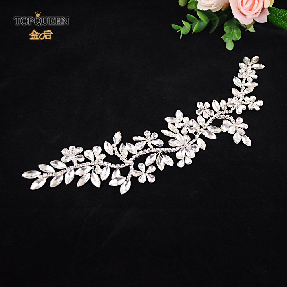 TOPQUEEN HP239 Bridal Tiaras Bride Headpieces Rhinstone Wedding Hair Accessories Prom Jewelry Stunning Wedding Hairband