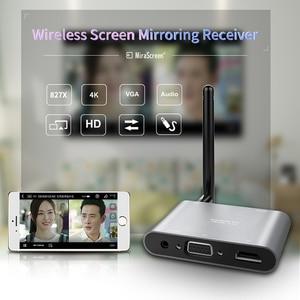 Image 2 - Mirascreen X6W Plus Wireless Miracast 5G 4K TV Stick Adapter 3 In 1 HD VGA AV 1080PตัวรับสัญญาณWifi Dongle