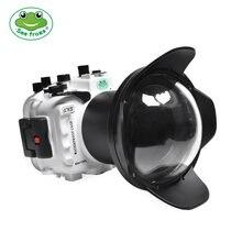 Чехол для подводной камеры водонепроницаемый белый чехол объектива