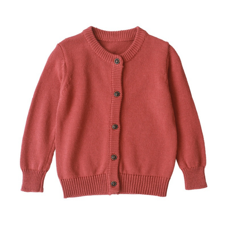 Autumn Children Knitted Cardigan Sweaters Baby Girls Clothes baby boy clothes Winter Boys Sweaters Kids Wear Cotton