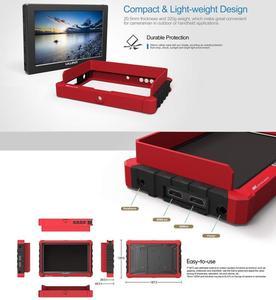 Image 3 - LILLIPUT Monitor de campo de cámara A7S, 7 pulgadas, 1920x1200, HD, IPS, 500cd/m2, 4K, HDMI, asistente de salida de vídeo para DSLR, sin espejo