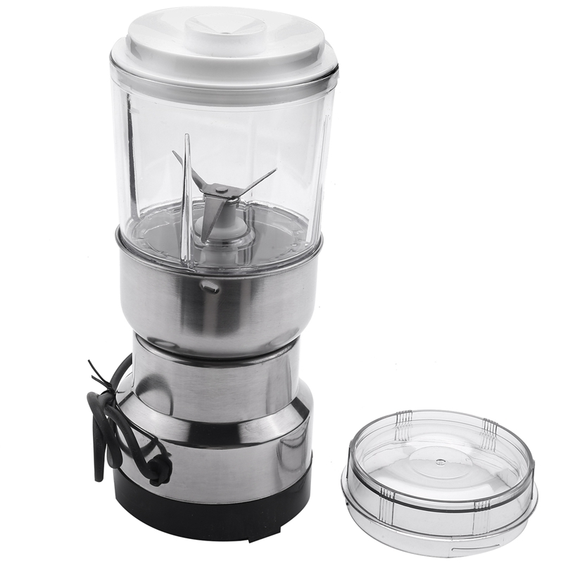 Coffee Grinder Portable Intelligent Electric Herbs Spices Nuts Grains Coffee Bean Grinding Machine For Household Kitchen Tool Eu