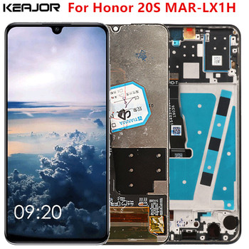 For Huawei Honor 20S Lcd Screen Tested AAA Lcd Display+Touch Screen With Frame Replacement For Huawei Honor 20 S MAR-LX1H new tested lcd display matrix for 7 oysters t7x 3g tablet 1024 600 tft lcd screen panel lens frame replacement free shipping