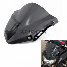 Déflecteurs de vent pour YAMAHA MT07 FZ07 MT FZ 07, accessoires pour moto, MT-07, FZ-07, 2018, 2019 et 2020