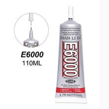 110ml E6000 Super Clear Glue Super Strong School Textile Fabric Craft Phone Glass Adhesive Jewelry Bead B7000 T7000 T9000 Black