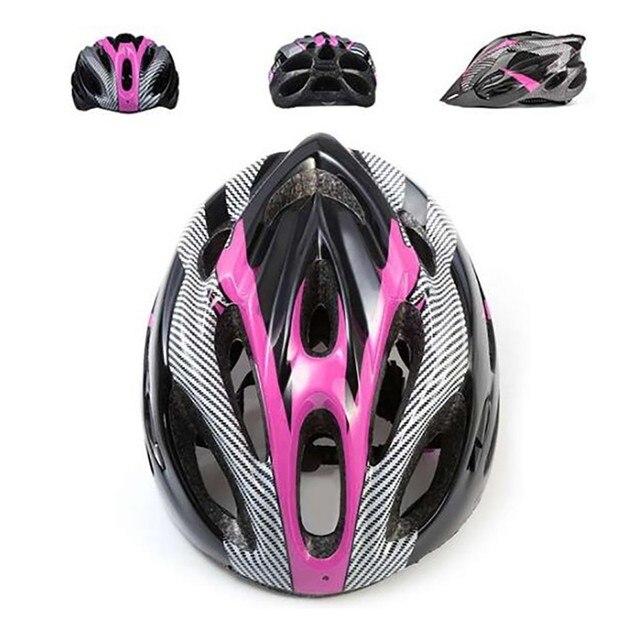 Unisex capacete de bicicleta mtb ciclismo estrada mountain bike esportes capacete de segurança da bicicleta proteção de segurança capacete 5