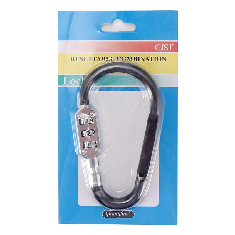 High Quality Portable Anti Theft Bike Motorcycle Helmet Lock With Resettable Code PIN