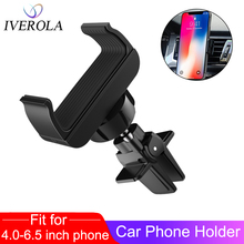 Univerola Car Phone Holder Stand Universal Air Vent Mount 360 Degreen For Support 4-6 inch in