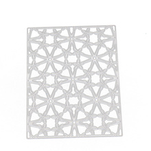 Rectangle Metal Cutting Dies Christmas Snowflake Stencils for DIY Scrapbooking/photo Album Embossing DIY Paper Card merry christmas trees sticker painting stencils for diy scrapbooking stamps home decor paper card template decoration album