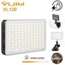 Ulanzi-luz LED para vídeo Vijim VL120 3200K-6500K con Softbox y filtros de Color RGB, luz de relleno para iluminación de videoconferencia