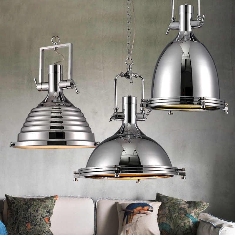 Черный винтажный промышленный подвесной светильник в скандинавском ретро-стиле, Железный Абажур, лофт, лампа Эдисона, металлическая клетка, столовая, сельская местность