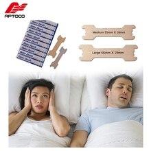 Aptoco 200 pz/lotto Anti russare strisce nasali sono meglio del respiro modo giusto per smettere di russare Anti russare strisce