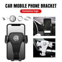 Universal de la gravedad titular del teléfono del coche soporte Clip de rejilla de ventilación soporte de montaje para Mazda 3 6 CX-5 MS velocidad CX-3 accesorios de Interior de coche