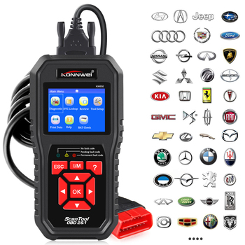 KONNWEI KW850 OBD2 Car Diagnostic Check Engine Code Reader  6