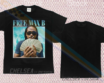 Inspired By Free Max B Wavey T-Shirt Merch Tour Limited Vintage Rare 2019 Unisex Tee image