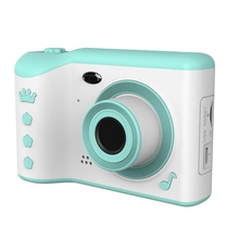 """子供カメラギフト子供のための2.8 """"ips眼の保護画面hdタッチスクリーンデジタルデュアルレンズ18MPカメラ用子供"""