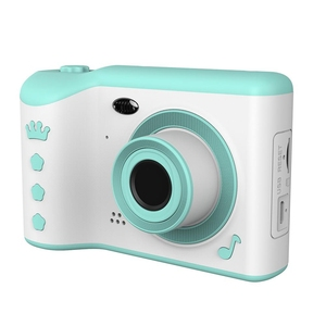 """Image 1 - Children Camera gift for kids 2.8"""" IPS Eye Protection Screen HD Touch Screen Digital Dual Lens 18MP Camera for Kids"""