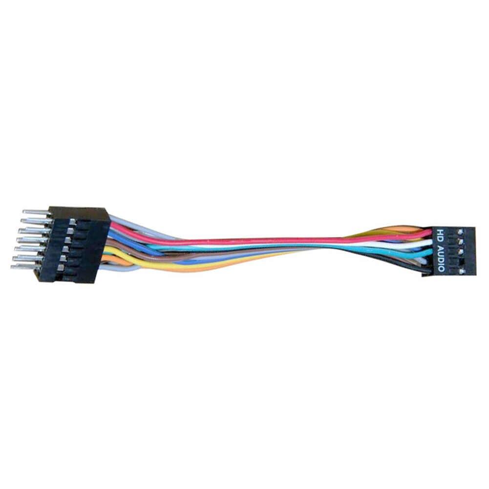 Cable convertidor de Audio HD de 13 pines macho a hembra de 9 pines 22AWG para la conexión de la placa base Lenovo HOST Panel frontal Audio 20cm