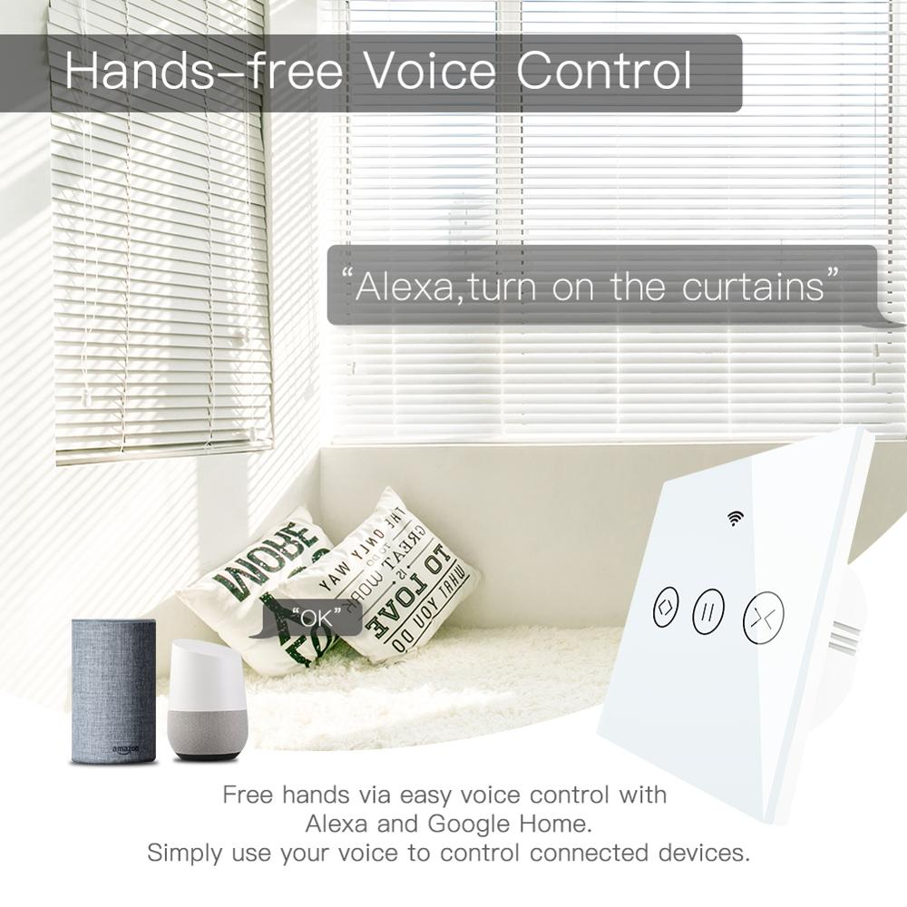 Wifi Smart Curtain Blind Switch For Tuya Motorized Electric Shutter Roller Curtain Works With Alexa Eco Google Smart Home