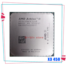 AMD Athlon II X3 450 3,2 GHz Triple-Core CPU procesador ADX450WFK32GM hembra AM3